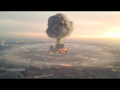 Nuclear Explosion: After Effects & 3DS Max
