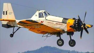 PZL M-18 Dromader   Water Drops & Landings @ Corfu Intl Airport   Plane Spotting
