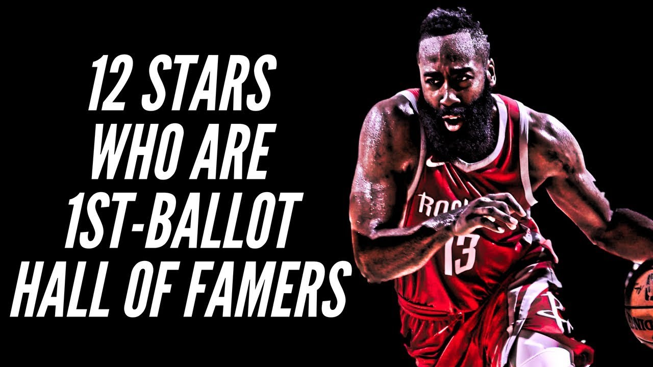 455e6935347f 12 NBA Stars Who Are Already First Ballot Hall of Famers - YouTube