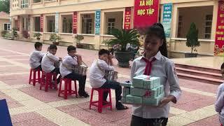 Trường THCS Lương Thế Vinh; Tiểu phẩm về an toàn giao thông.