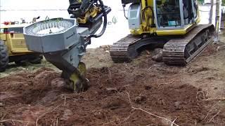 高性能林業機械?【地拵え植林】