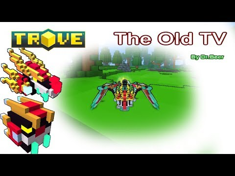 Trove มังกรBlocktron, the Guardian Beyond the Sky