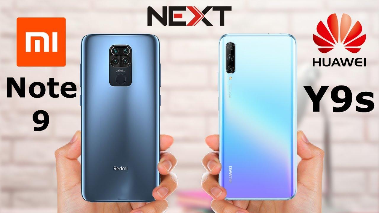 Redmi Note 9 vs Huawei Y9s