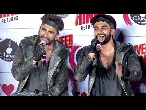 Must Watch Ranveer Singh FUNNY Moments At Ranveer Ching Returns Launch