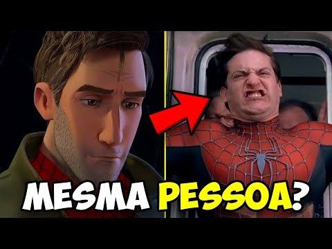 Quem é o Peter Parker em Homem Aranha no Aranhaverso? Teoria!