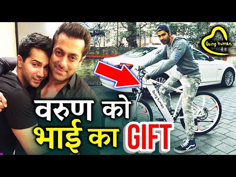 Salman ने Varun Dhawan को दी अपनी Being Human Cycle