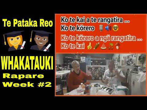 TE PATAKA REO - WHAKATAUKI - WEEK #2 MĀORI LANGUAGE REVITALISATION TIPS, VIDEOS RESOURCES from YouTube · Duration:  4 minutes 15 seconds