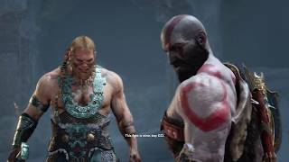 God of War 4 - Sons of THOR Magni & Modi Boss Fight (God of War 2018) PS4 Pro