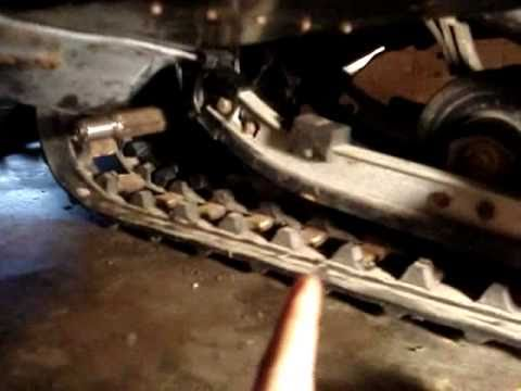Replacing Bearing on Snowmobile Drive Shaft