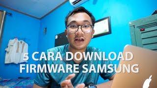 Gambar cover 5 Cara Download Firmware Samsung -  Tutorial Video