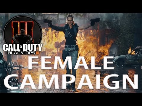Black Ops 3 Female Veteran Campaign Mission 1 (Black Ops)