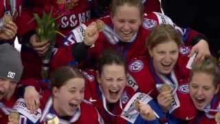 Слезы радости! ЧМ 2013 Женская сборная России бронзовые медали!!