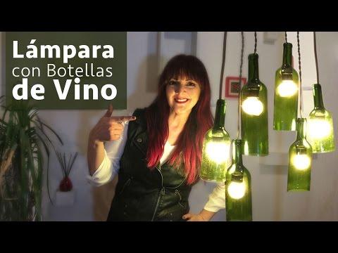 Lamparas con Botellas Vino :: Chuladas Creativas :: Wine DIY