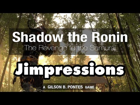 Shadow The Ronin: The Revenge To The Samurai - Another Stunning PS4 Exclusive! (Jimpressions)