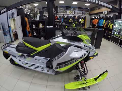 Новый снегоход 2018 мг Ski-Doo   RENEGADE  850E-Tec X-RS