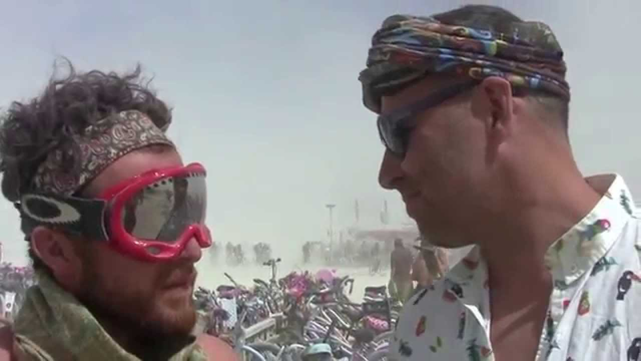 Hub Culture Camp at Burning Man 2015 with Erwig