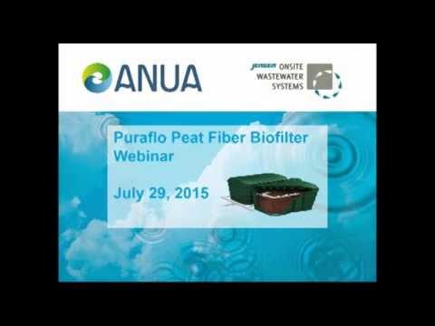 ANUA Puraflo Peat Fiber Biofilter Webinar 7-29-15