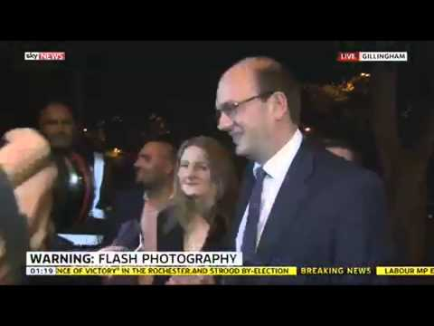 UKIP's Mark Reckless Arrives At Rochester Count
