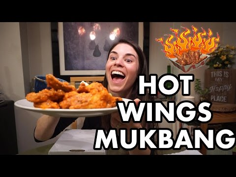 HOT WINGS | MUKBANG + SOME GOSSIP