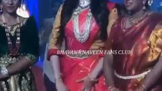 Queen Bhavana menon Naveen For vivahaparva fashion  Event ❤😍