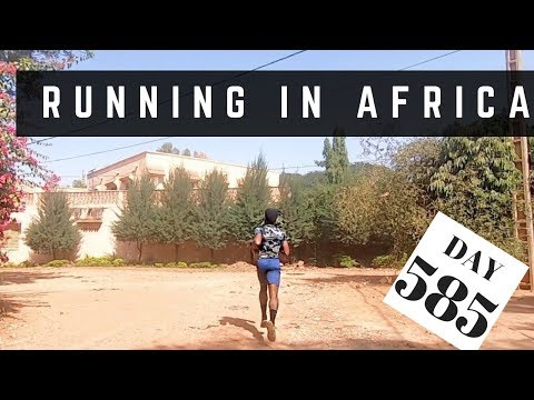 running everyday | running in africa day 585 | gopro hero 7 black