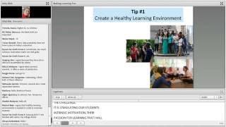 AE الويبينار 2.1 - جعل التعلم متعة: أنشطة لبناء الطالب الدافع