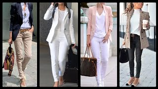 Indo western outfits ideas for office// college wear/Stylish clothing styles for office and college