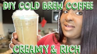 """HOW TO"" DIY COLD BREW COFFEE 