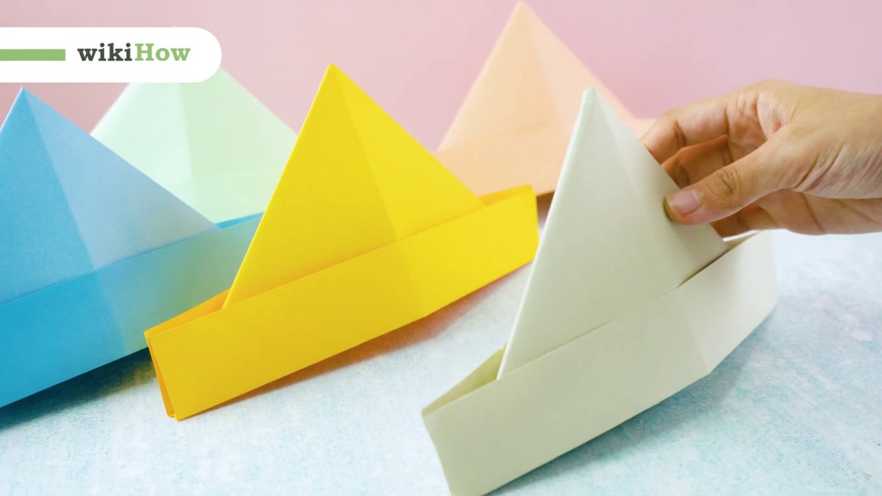How to Make an Origami Paper Hat Step by Step Instructions | Free ... | 720x1280