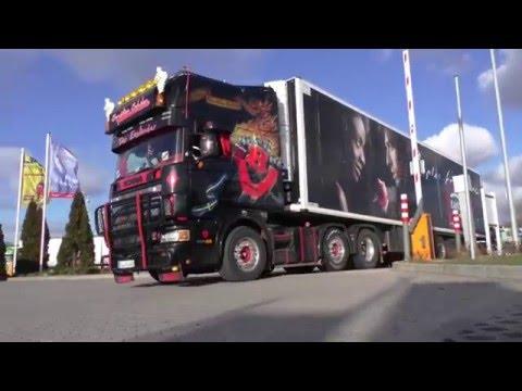 SCANIA 164L V8 SOUND Loud Pipe - Spedition Schulze [HD]