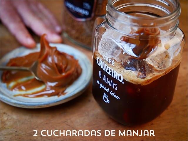 Café Helado con Manjar