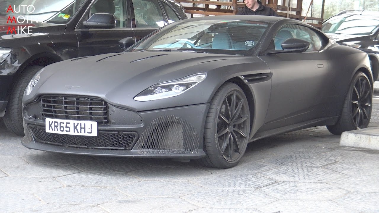 2018 Aston Martin Db11 S Spied Testing At The Nurburgring Youtube