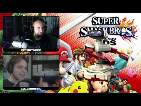 Super Smash Bros for 3DS/WiiU - Unsere Charakter-Rankings (mit PrinnyDood) - #2