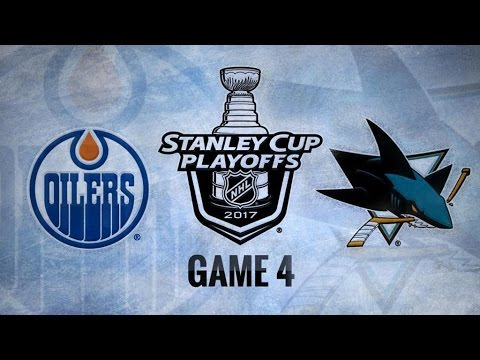 Edmonton Oilers Vs. San Jose Sharks Game 4 | NHL Game Recap | April 18, 2017 | HD