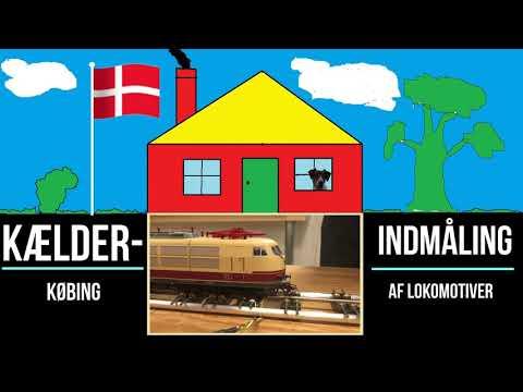 Indmåling af lokomotiver i Kælderkøbing