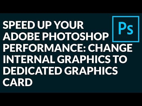 HOW To CHECK And ENABLE  GRAPHICS PROCESSOR In ADOBE PHOTOSHOP For BETTER PERFORMANCE?