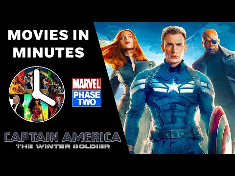 Captain America: The Winter Soldier in 4 minutes - (Marvel Phase Two Recap)