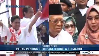 Mesra di Kampanye: Jokowi-Iriana & Ma'ruf-Nyai Wury Estu Handayani