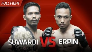 [HD] Suwardi vs Erpin Syah || One Pride Pro Never Quit #26