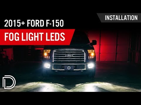How to Install 2015+ Ford F-150 Fog Lights