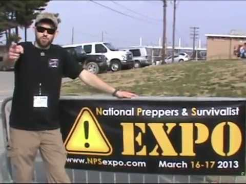 NATIONAL PREPPERS & SURVIVALIST EXPO NASHVILLE,TN FILM COVERAGE BY 7 TRUMPETS PREPPER