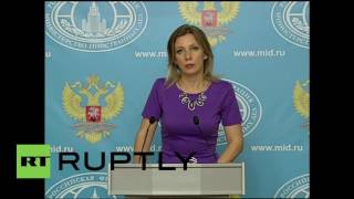 Russia: FM's Zakharova calls for closure of Syria-Turkey border