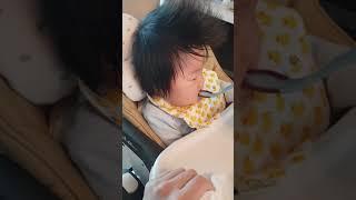 초기이유식 쌀미음 ♡ 인생 132일차 쪼리의 첫 이유식…