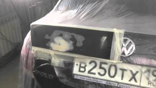 видео Обучение локальной покраске автомобиля