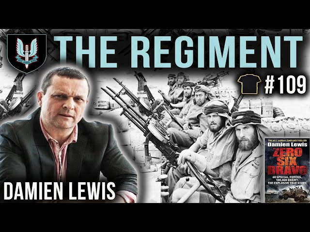 The History Of The Special Air Service | SAS | Damien Lewis | Bought The T-Shirt Podcast #109