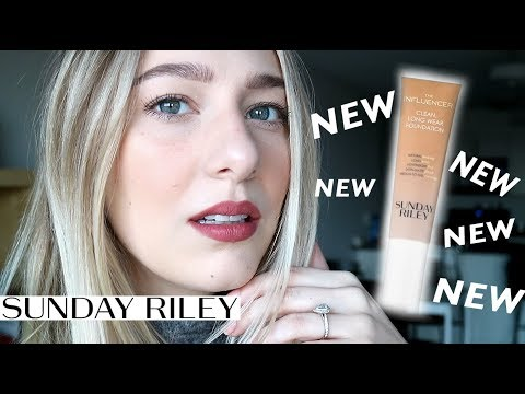 SUNDAY RILEY THE INFLUENCER FOUNDATION first impression