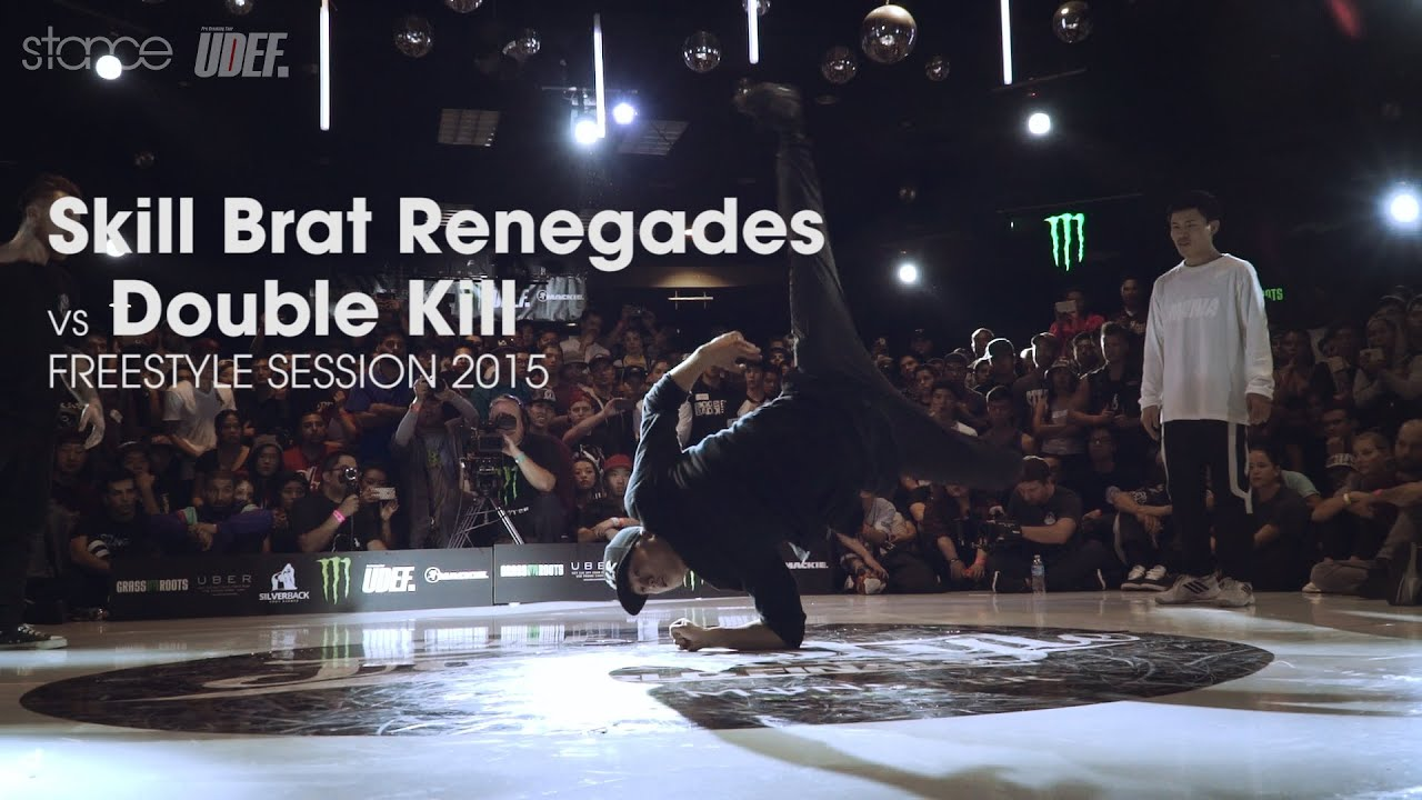 Skill Brat Renegades vs Double Kill // .stance // Freestyle Session 2015 x UDEFtour.org