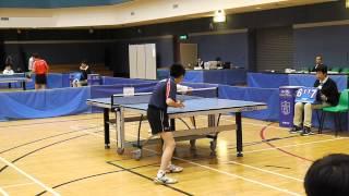 全港公開青少年乒乓球錦標賽男子 U15 組團體决賽嚴X楠 vs 林X權R3上