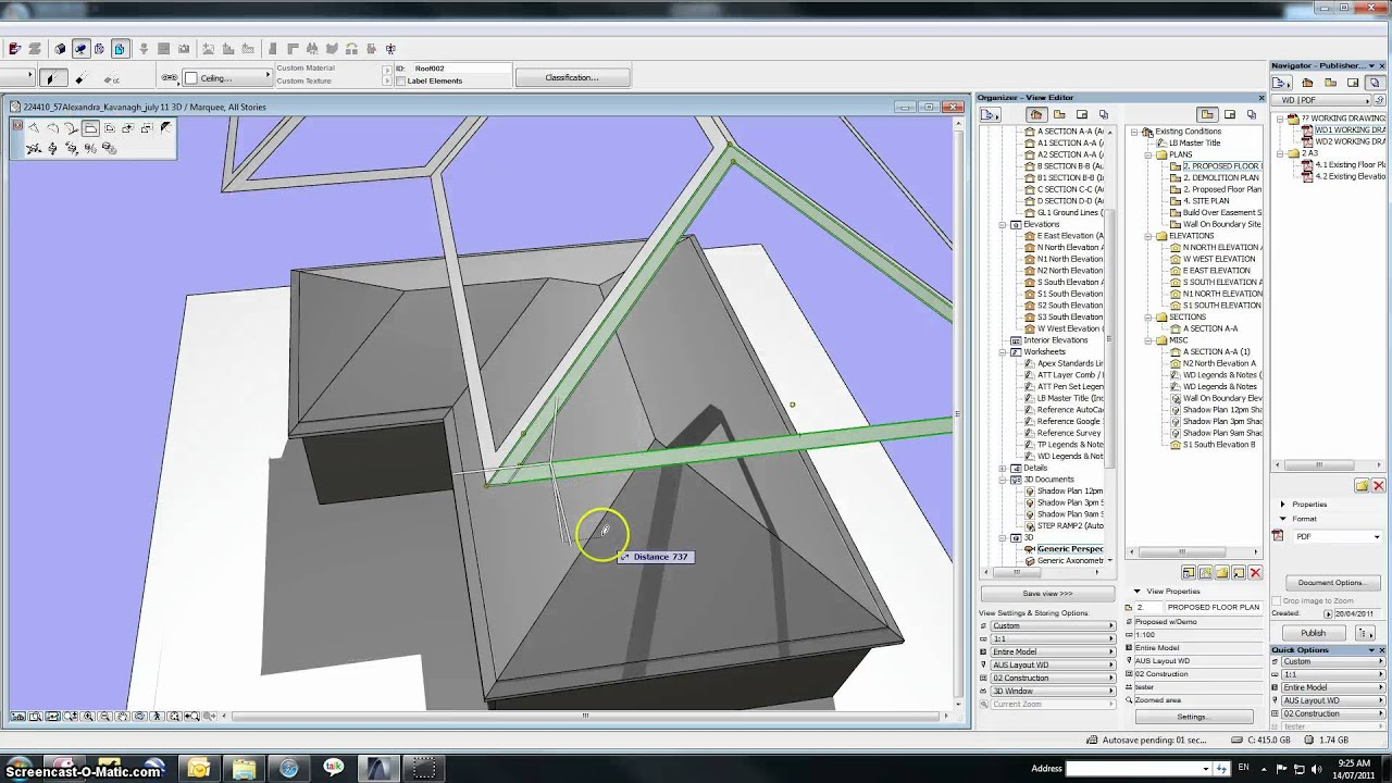 Archicad Roof Capping Demo Youtube
