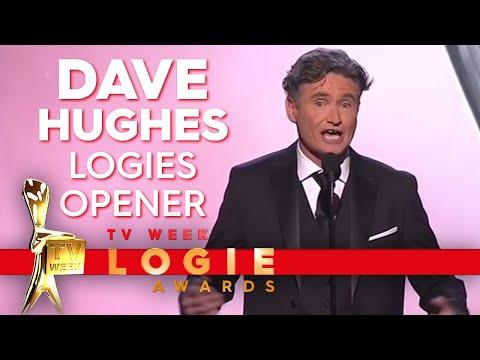 Dave Hughes opens the 2018 TV Week Logies | TV Week Logie Awards 2018